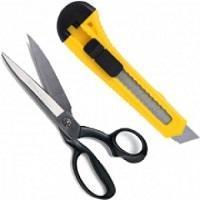 Ножницы и канцелярские ножи