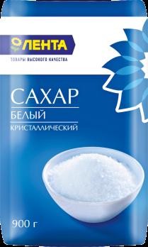 Сахар ЛЕНТА ГОСТ кат.Экстра 900г