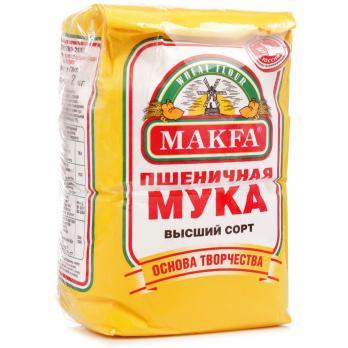 Мука MAKFA в/с 1кг