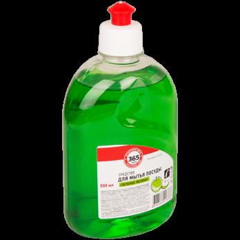 Средство д/мытья посуды 365 ДНЕЙ Зеленое яблоко 500г