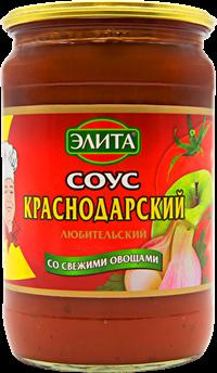 Соус КУХМАСТЕР Волжская Элита Краснодарский Любительский 690г