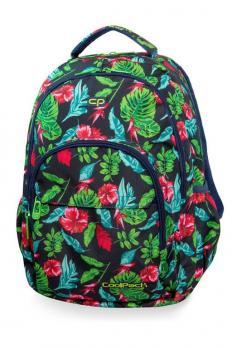 Рюкзак COOLPACK Бейсик плюс Turquoise Jungle 27л 46х31х19см