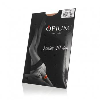 Чулки жен OPIUM Passion 40den visone р.3
