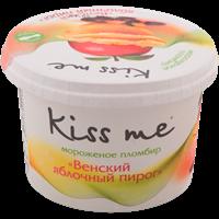 Мороженое KISS ME Венский яблочный пирог пломбир бум/стак