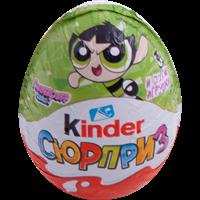 Яйцо шоколадное KINDER Сюрприз из молочного шоколада с игрушкой