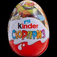 Яйцо шоколадное KINDER Сюрприз из молочного шоколада с игрушкой (Мультфильмы)
