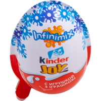 Изделие кондитерское KINDER JOY с игрушкой вафельные хруст шарики покрытые какао в креме