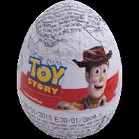 Яйцо шоколадное LUIGI ZAINI История игрушек с сюрпризом