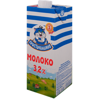 Молоко ПРОСТОКВАШИНО у/паст. 3,2%