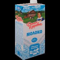 Молоко ДОМИК В ДЕРЕВНЕ стерил. 0,5% TBASlim