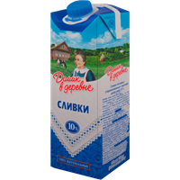 Сливки ДОМИК В ДЕРЕВНЕ стерил. 10% Combi Fit