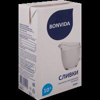 Сливки BONVIDA у/паст. питьевые 10%