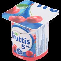 Продукт йогуртный FRUTTIS паст. сливочный вишня/ черника 5%