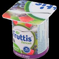 Продукт йогуртный FRUTTIS паст. Легкий ананас -дыня/ лесные ягоды 0,1%