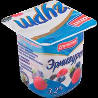 Продукт йогуртный EHRMANN Эрмигурт молочный лесные ягоды 3,2%