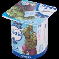 Продукт йогуртный FRUTTIS паст.Герои Marvel вит.А,Д,Е д/дет.с 3-х л. с черник/мал 2,5%