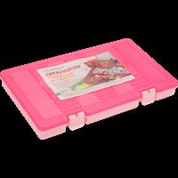 Органайзер для рукоделия MARTIKA Фолди, 310х190мм, розовый с762РОЗ