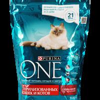 Корм для взрослых кошек PURINA ONE Sterilcat говядина и пшеница