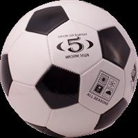 Мяч футбольный BL-2001, №5, 2 цвет, машин, строчка, ПВХ 998101