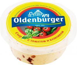 Сыр OLDENBURGER с томатом и базиликом 50% цилиндр без змж 350г