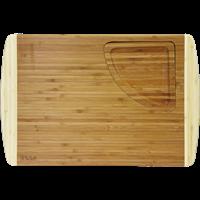 Доска разделочная TALLER со съемным лотком 46х30,5 см, бамбук TR-2208