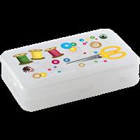Коробка для мелочей БЫТПЛАСТ 225x135x53 мм, пластик