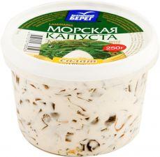 Салат БАЛТИЙСКИЙ БЕРЕГ из морской капусты в сырном соусе 250г