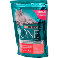 Корм для кошек PURINA ONE Sterilcat лос/пш/тунец д/стер кош,кастр котов сух.порц.