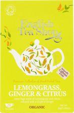 Напиток чайный ETS с лемонграссом, имбирём и апельсином к\уп 20пак