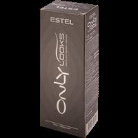 Краска для бровей и ресниц ESTEL Only Looks профессиональная №601 тон черный