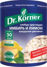 Хлебцы DR KORNER Кукурузно-рисовые с имбирем и лимоном 90г
