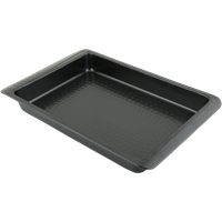 Форма для выпечки HOMECLUB Essential прямоугольная большая 39,5х25,7х4,5см, сталь CB01191