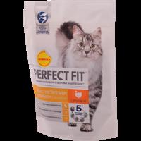 Корм для кошек PERFECT FIT с индейкой с чувств. пищеварением