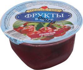 Желе АППЕТИССИМО плодово-ягодное Вишня в желе 150г