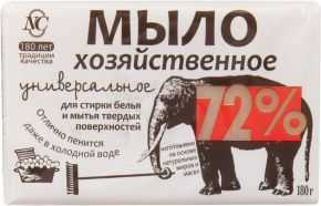 Х/мыло NC Твердое 72% 180г