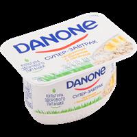 Продукт творожный DANONE с бананом и овсом 3,2%