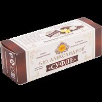 Сырок глазированный Б.Ю. АЛЕКСАНДРОВ Суфле в темном шоколаде с ванилью 15%