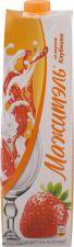 Напиток сыворот-молочный NEO МАЖИТЕЛЬ стерил. клубника 0,05% без змж 950г