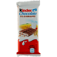 Шоколад KINDER Country молочный с молочно-злаковой начинкой