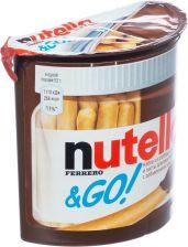 Паста шоколадная NUTELLA с хлебными палочками 52г