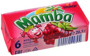 Конфеты жевательные MAMBA 26,5г