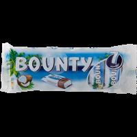Конфета BOUNTY с нежн мякотью кокоса, покрыт молочн шоколадом мультипак