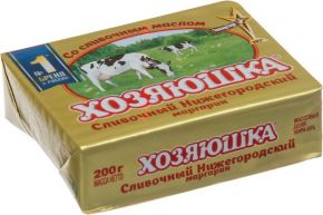 Маргарин ХОЗЯЮШКА Сливочный фольга 200г