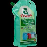 Жидкое средство для стирки FROSCH д/цвет.белья унив.мягкая упаковка