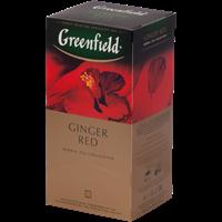Чай GREENFIELD Ginger Red с имбирем к/уп