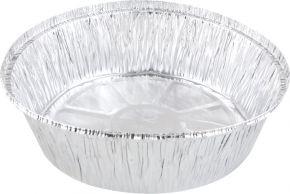 Форма д/выпечки круглая 20x5см, алюминиевая фольга