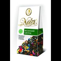 Чай зеленый NADIN Весенний Цветок аром. лист. к/уп