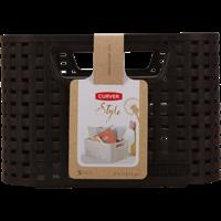 Корзина CURVER Rattan Style Box S-6L 04721