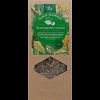 Чай зеленый ЛЕНТА Монастырский байховый ароматизированный