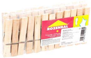 Прищепки ROZENBAL деревянные 24шт